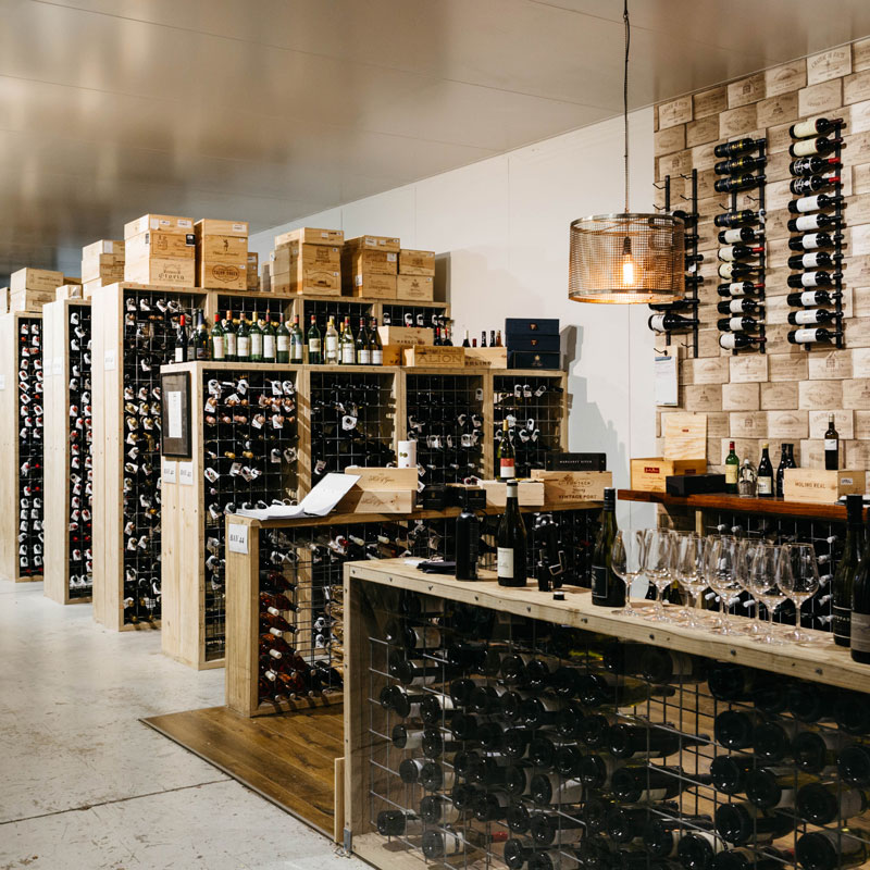 Royal Mail Hotel Wine Cellar
