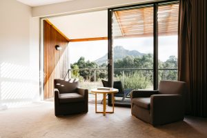 Deluxe Mountain View sitting room