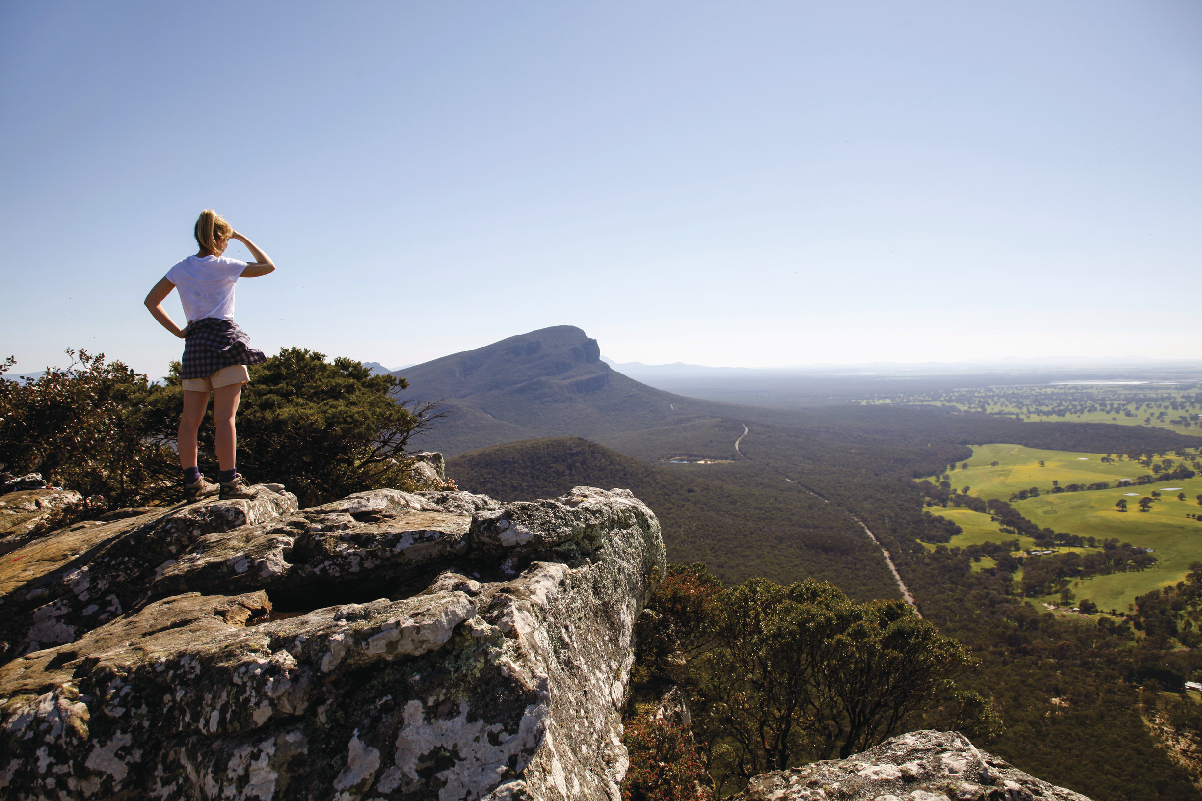 Hiking weather in the Grampians
